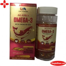 Alaska omega 3 with Coenzyme 10