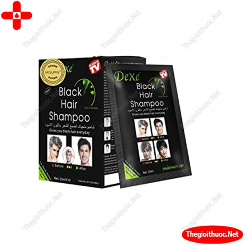 Black hair shampoo TH pharma