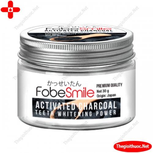 Bột than hoạt tính trắng răng Fobe Smile