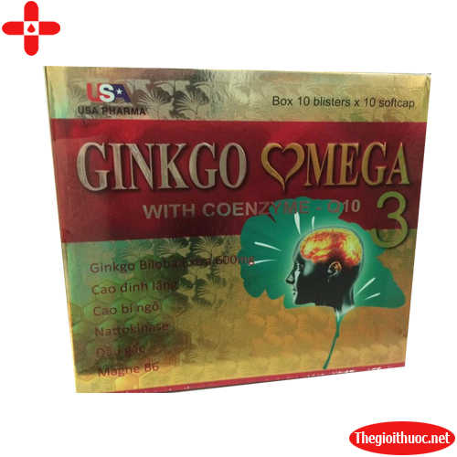 Ginkgo omega with coenzyme Q10