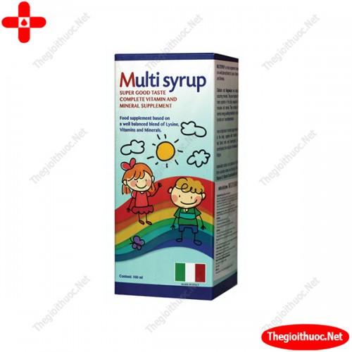 Multi Syrup Italia