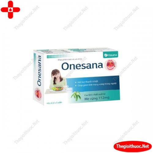 Ngậm nhiệt miệng Onesana