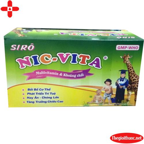 Nic - vita dạng ống