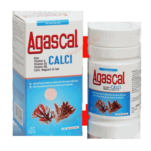 Agascal - Calci từ tảo biển