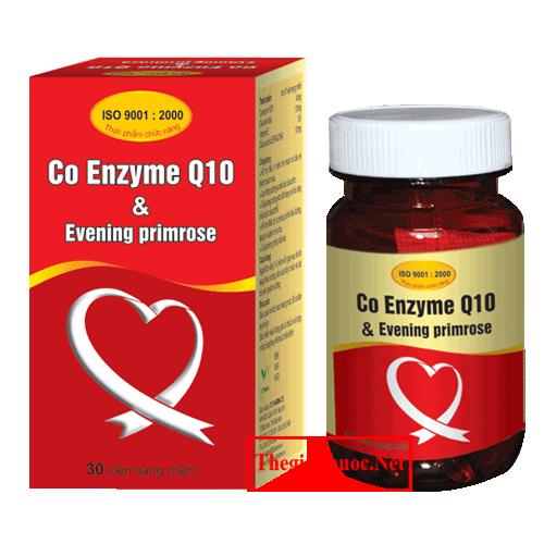 Co Enzyme Q10 & Evening Primrose