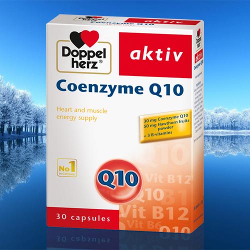 Coenzyme Q10 Doppel Herz
