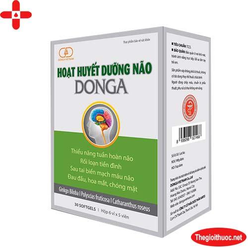 Hoạt huyết dưỡng não Donga