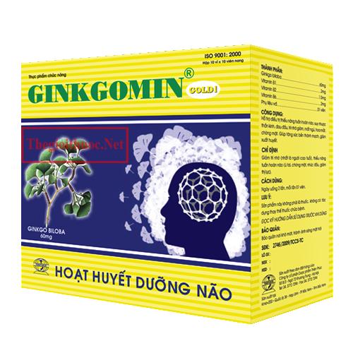 Hoạt huyết Ginkgomin Gold 1
