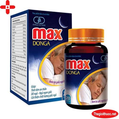 Hoạt huyết an thần Max Donga