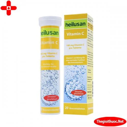 Viên sủi Vitamin C Heilusan