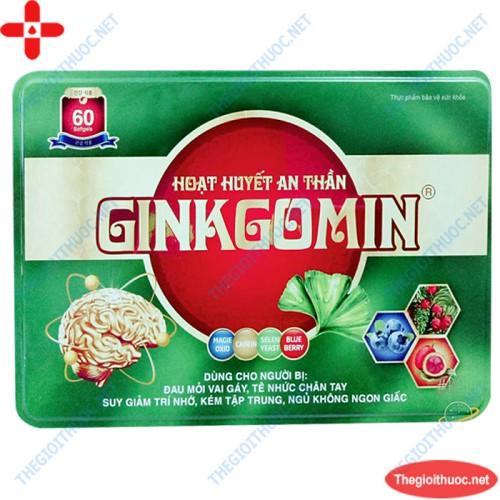 Hoạt huyết an thần Ginkgomin