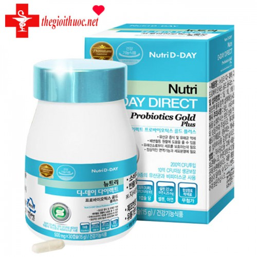Nutri D-DAY Direct Probiotics Gold Plus lọ