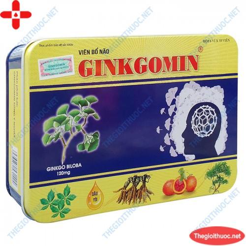 Viên bổ não Ginkgomin