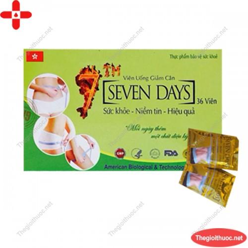 Viên uống giảm cân Seven Days