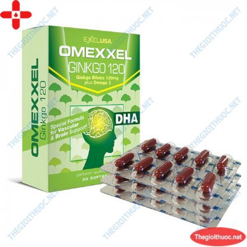 Omexxel ginkgo 120